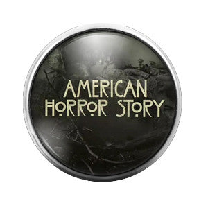 American Horror Story - 18MM Glass Dome Candy Snap Charm GD0365