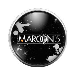 Maroon 5 - 18MM Glass Dome Candy Snap Charm GD0337