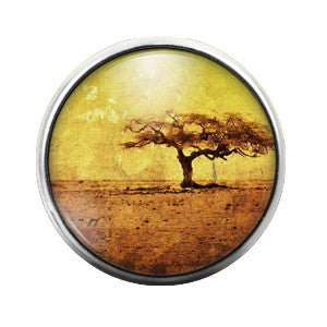 Safari - 18MM Glass Dome Candy Snap Charm GD0376