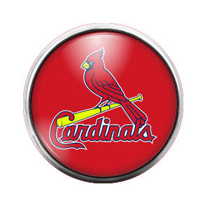 Cardinals - 18MM Glass Dome Candy Snap Charm GD0018