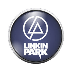 Linkin Park - 18MM Glass Dome Candy Snap Charm GD0335