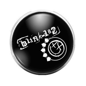 Blink 182 - 18MM Glass Dome Candy Snap Charm GD0338