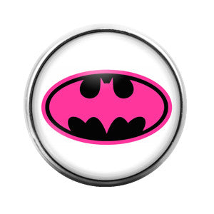 Batgirl- 18MM Glass Dome Candy Snap Charm GD0126