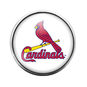 Cardinals - 18MM Glass Dome Candy Snap Charm GD0032