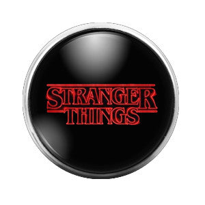 Stranger Things - 18MM Glass Dome Candy Snap Charm GD0358