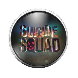Suicide Squad- 18MM Glass Dome Candy Snap Charm GD0139