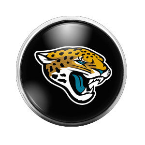 Jaguars - 18MM Glass Dome Candy Snap Charm GD0014