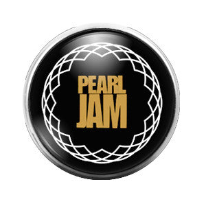 Pearl Jam - 18MM Glass Dome Candy Snap Charm GD0336
