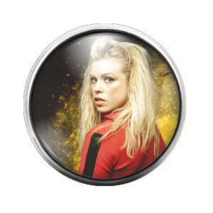 Doctor Who Rose - 18MM Glass Dome Candy Snap Charm GD0352