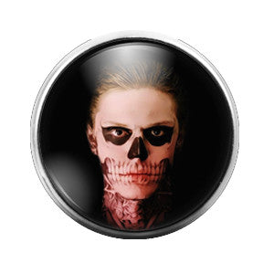 American Horror Story - 18MM Glass Dome Candy Snap Charm GD0373