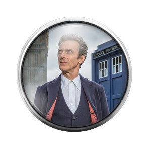 Doctor Who - 18MM Glass Dome Candy Snap Charm GD0369