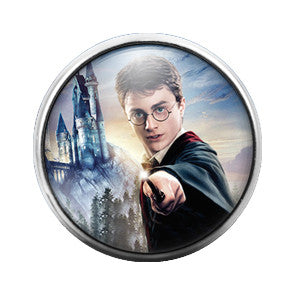 Harry Potter - 18MM Glass Dome Candy Snap Charm GD0359