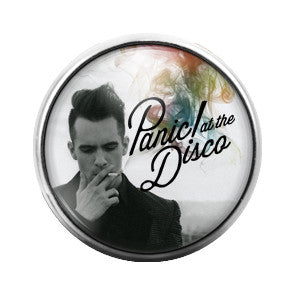 Panic at the Disco - 18MM Glass Dome Candy Snap Charm GD0364