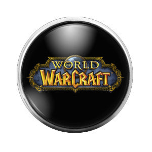 World of Warcraft - 18MM Glass Dome Candy Snap Charm GD0191