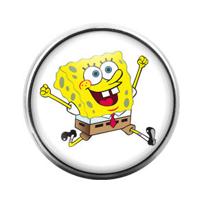 Spongebob - 18MM Glass Dome Candy Snap Charm GD0205