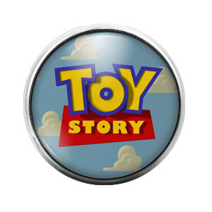 Toy Story - 18MM Glass Dome Candy Snap Charm GD0212