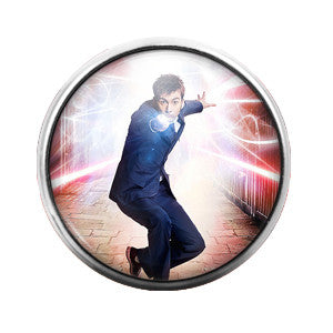 Doctor Who - 18MM Glass Dome Candy Snap Charm GD0349