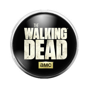 The Walking Dead - 18MM Glass Dome Candy Snap Charm GD0183