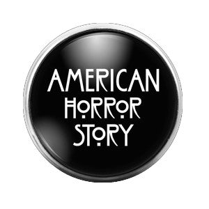 American Horror Story - 18MM Glass Dome Candy Snap Charm GD0193