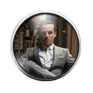 Sherlock Holmes Moriarity - 18MM Glass Dome Candy Snap Charm GD0178
