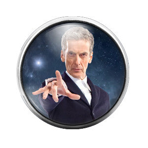 Doctor Who - 18MM Glass Dome Candy Snap Charm GD0367