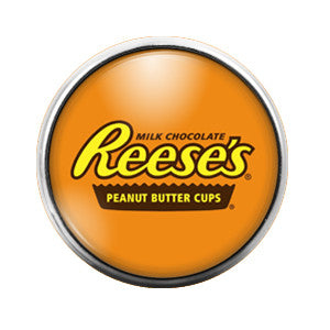 Reese's- 18MM Glass Dome Candy Snap Charm GD0317