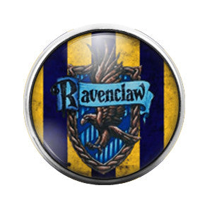 Harry Potter Ravenclaw - 18MM Glass Dome Candy Snap Charm GD0181