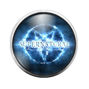 Supernatural- 18MM Glass Dome Candy Snap Charm GD0154