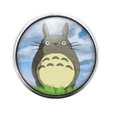 Totoro- 18MM Glass Dome Candy Snap Charm GD0159