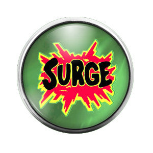Surge - 18MM Glass Dome Candy Snap Charm GD0220