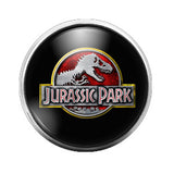 Jurassic Park- 18MM Glass Dome Candy Snap Charm GD0158
