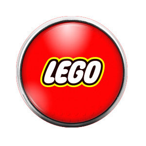 Lego - 18MM Glass Dome Candy Snap Charm GD0192