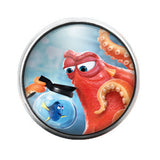Dory Finding Nemo - 18MM Glass Dome Candy Snap Charm GD0204