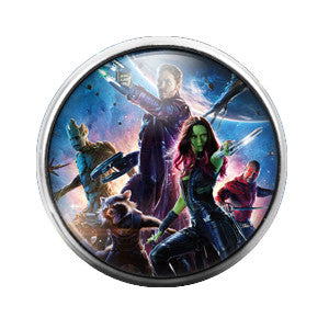 Guardians of the Galaxy - 18MM Glass Dome Candy Snap Charm GD0206
