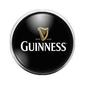 Guinness - 18MM Glass Dome Candy Snap Charm GD0170