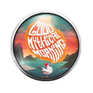 Good Mythical Morning - 18MM Glass Dome Candy Snap Charm GD0174