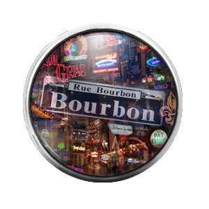 Bourbon Street - 18MM Glass Dome Candy Snap Charm GD0346