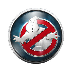 Ghostbusters- 18MM Glass Dome Candy Snap Charm GD0135