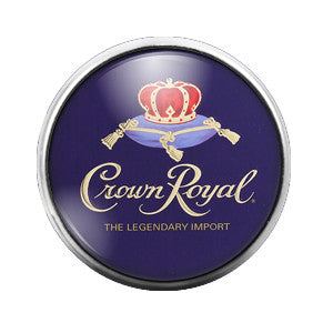 Crown Royal - 18MM Glass Dome Candy Snap Charm GD0167