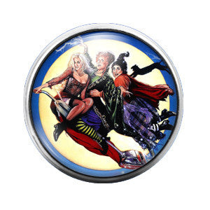 Hocus Pocus- 18MM Glass Dome Candy Snap Charm GD0134