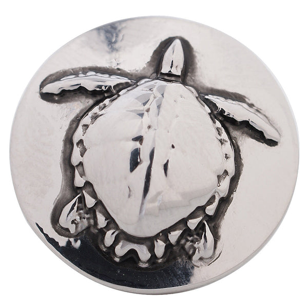 1 PC 18MM Turtle Silver Candy Snap Charm kc5167 CC3248