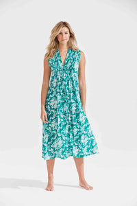 One Season Tommy Dress Puglia Emerald
