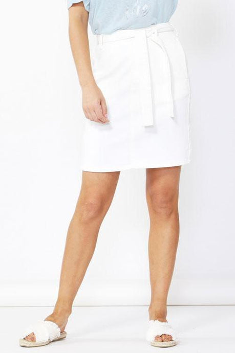 Betty Basics Archer Stretch Denim Skirt