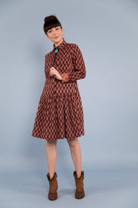 Boom Shankar Cactus Flower Shirt Dress