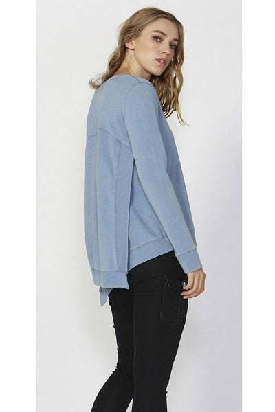 Betty Basics Ryder Cross Back Sweater