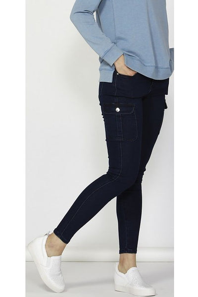 Betty Basics Casper Denim Cargo