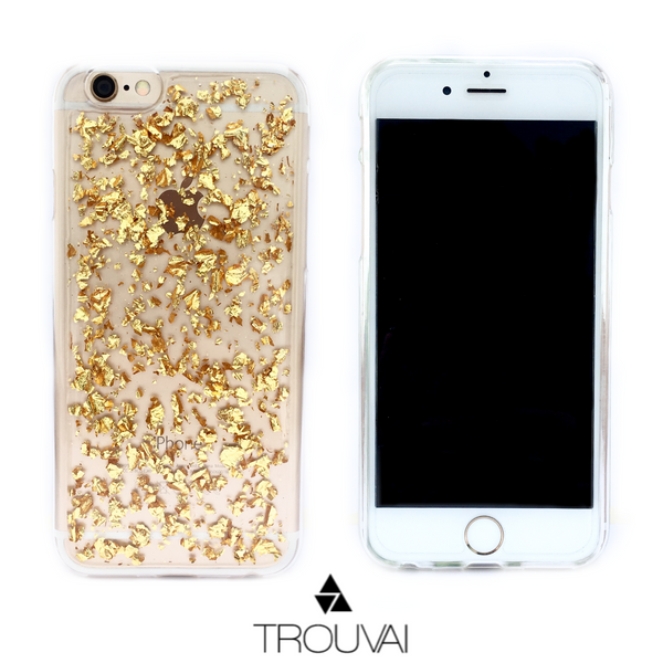 Estuche para iPhone 6/6s. Modelo Broken Diamonds Golden Case