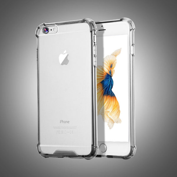 Shockproof Armor Clear- Black
