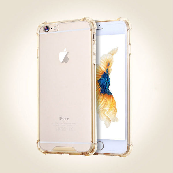 Shockproof Armor Clear- Gold