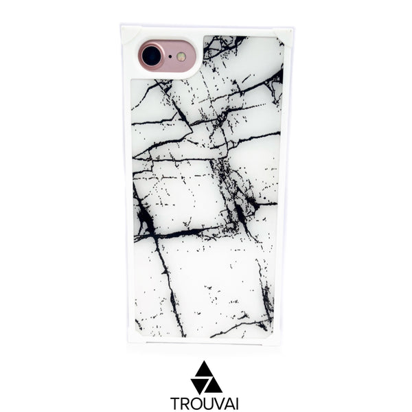 Square Marble- White